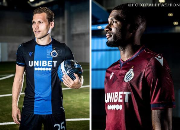 Club Brugge 2019 2020 Macron Football Shirt, Soccer Jersey, Kit, Tenue, Maillot
