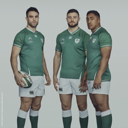 Ireland 2019 Rugby World Cup Home and Away Kit, Jersey, Shirt