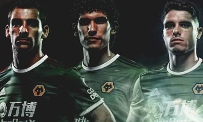 Wolverhampton Wanderers 2019 2020 adidas Green Third Football Kit, Soccer Jersey, Shirt, Camisa, Camiseta