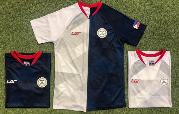 Philippines 2019 2020 LGR Home and Away 2022 World Cup Qualifying Football Kit, Soccer Jersey, Shirt