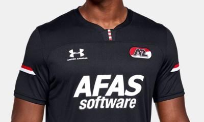 Under Armour AZ ALKMAAR 2019//20 Kids Home Shirt 9-10 Ans BNWT