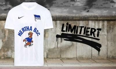Hertha BSC Mauerfall 30th Anniversary 2019 2020 Football Kit, Soccer Jersey, Shirt, Trikot