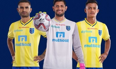 Kerala Blasters 2019 2020 Home and Away Football Kit, Soccer Jersey, Shirt