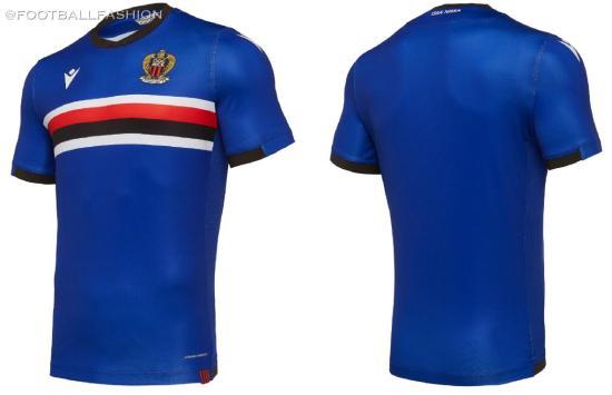 OGC Nice 2019 2020 Macron Home, Away and Third Football Kit, Soccer Jersey, Shirt, Maillot