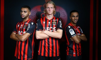 OGC Nice 2019 2020 Macron Home, Away and Third Football Kit, Soccer Jersey, Shirt, Maillot