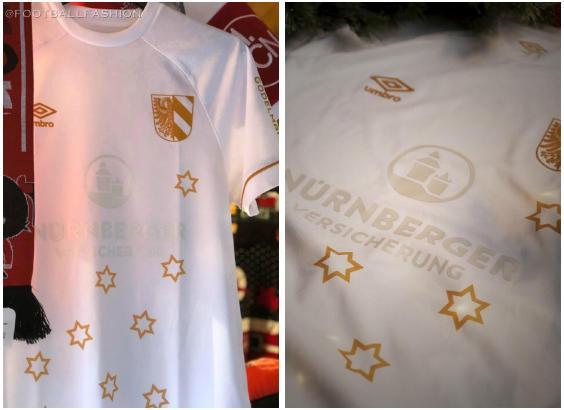 1. FC Nürnberg 2019 Umbro Weihnachtstrikot, Sondertrikot, Trikot, Christmas Jersey, Shirt, Kit
