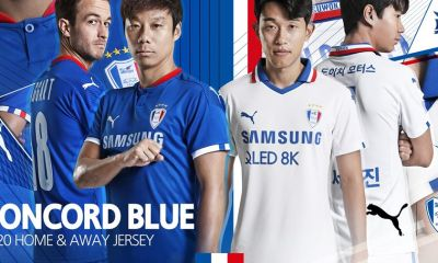 Suwon Samsung Bluewings 2020 PUMA Football Kit, Soccer Jersey, Shirt