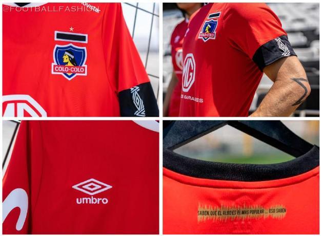 Colo-Colo 2020 Umbro Third Foootball Kit, Soccer Jersey, Shirt, Camiseta de Futbol