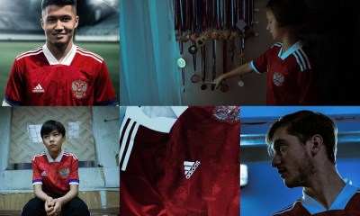 Russia EURO 2020 adidas Home Football Kit, Soccer Jersey, Shirt