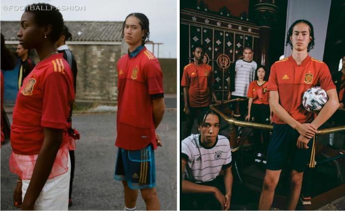 Spain EURO 2020 adidas Home Football Kit, Soccer Jersey, Shirt, Camiseta, Equipacion