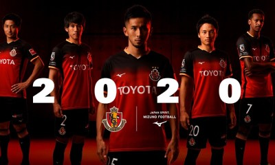 Nagoya Grampus 2020 Mizuno Home Football Kit, Soccer Jersey, Shirt
