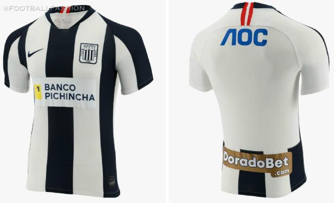 Club Alianza Lima 2020 Nike Home Football Kit, Soccer Jersey, Shirt, Camiseta de Futbol