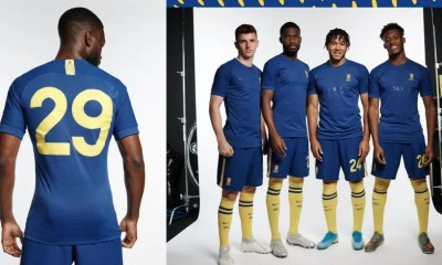 Chelsea 1970-Inspired 2019 2020 Fourth Cup Football Kit, Soccer Jersey, Shirt, Camiseta, Maillot, Camisa, Trikot