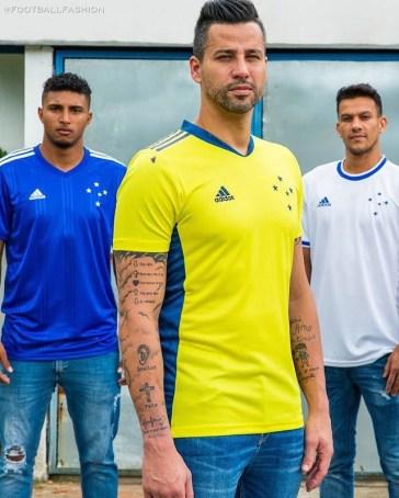 Cruzeiro 2020 adidas Home and Away Soccer Jersey, Football Kit, Shirt, Camisa, Camiseta