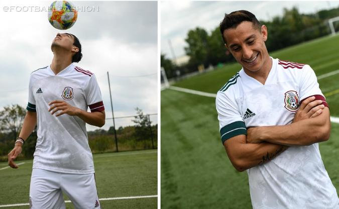 Mexico 2020 adidas White Away Soccer Jersey, Shirt, Football Kit, Camiseta Blanca