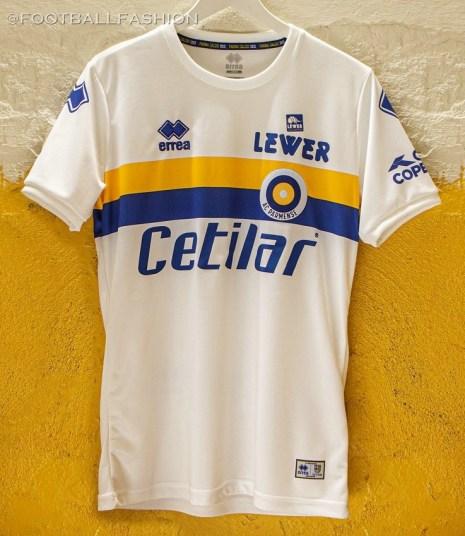 Parma Calcio x AC Parmense Special Edition 2019 2020 Errea Football Kit, Soccer Jersey, Shirt, Gara, Maglia edizione limitata