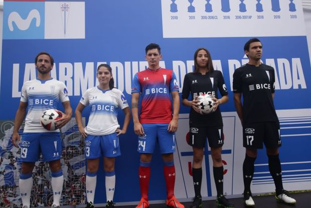 Universidad Católica 2020 Under Armour Home and Away Football Kit, Soccer Jersey, Shirt, Camiseta de Futbol