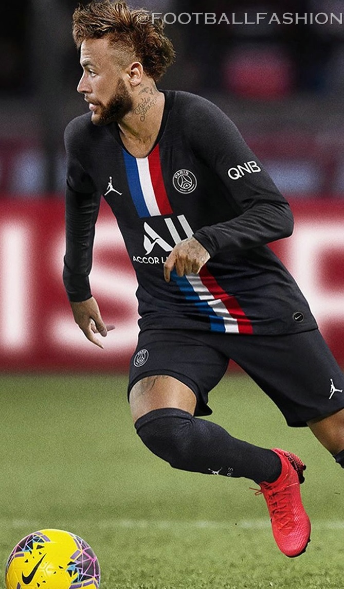 Paris Saint Germain X Jordan 2020 4th Kit Football Fashion