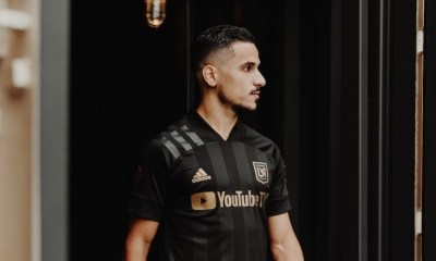 LAFC 2020 2021 Black adidas Home Soccer Jersey, Football Kit, Shirt, Camiseta de Futbol MLS