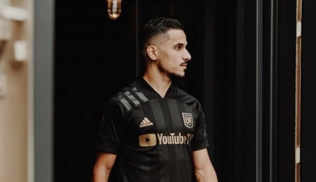 LAFC 2020 2021 Black adidas Home Soccer Jersey, Football Kit, Shirt, Camiseta de Futbol MLS