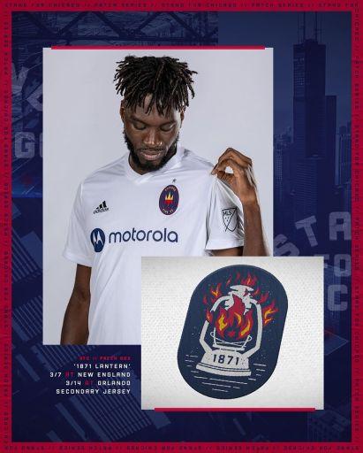 Chicago Fire 2020 adidas Home Soccer Jersey, Football KIt, Shirt, Camiseta de Futbol