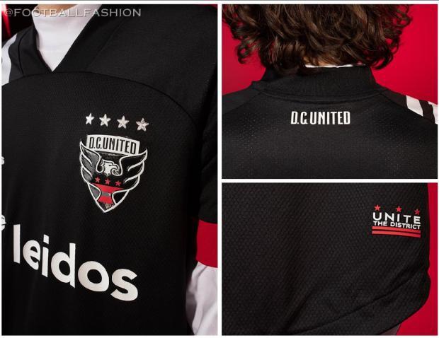 D.C. United 2020 adidas Home Soccer Jersey, Football Kit, Shirt, Camiseta de Futbol