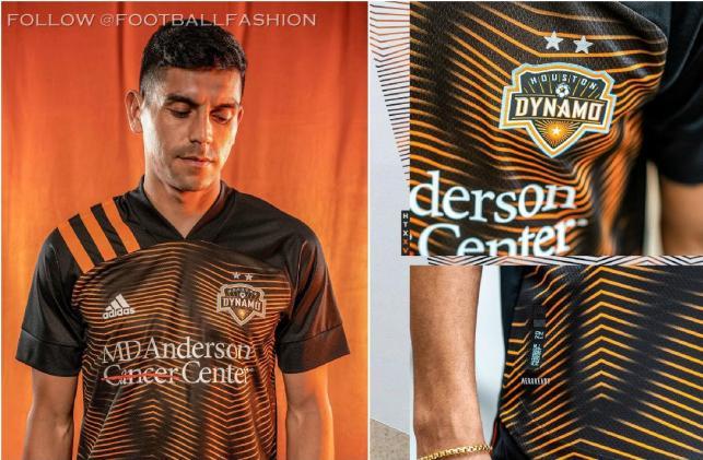 Houston Dynamo 2020 adidas Away Soccer Jersey, Football Shirt, Kit, Camiseta de Futbol MLS
