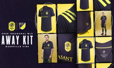 Nashville SC 2020 adidas Away Soccer Jersey, Football Kit, Shirt, Camiseta de Futbol