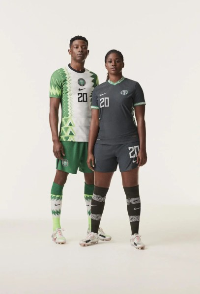 Nigeria 2020 2021 Nike Home and Away Football Kit, Soccer Jersey, Shirt