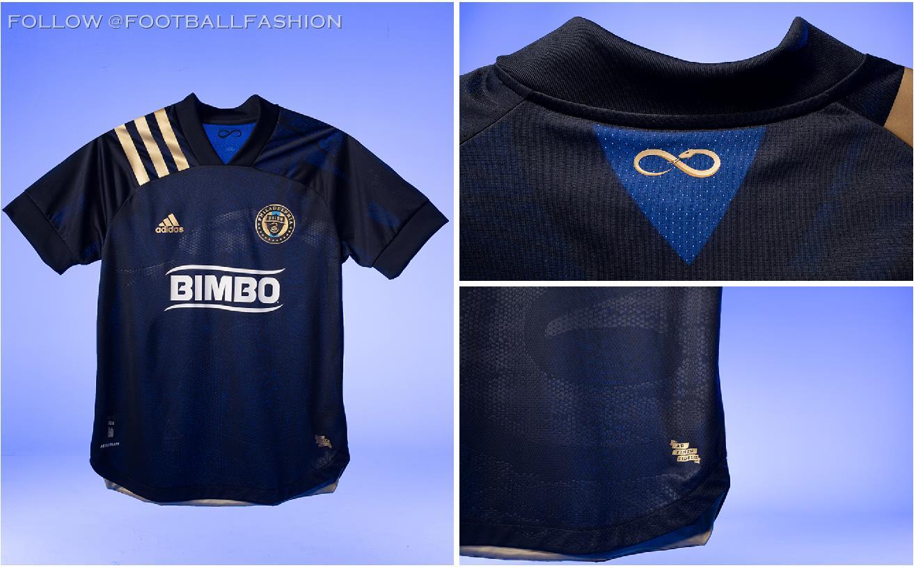 Philadelphia Union 2020 Adidas Home Kit Football Fashion Org