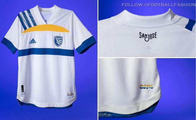 San Jose Earthquakes 2020 adidas 408 Edition Away Football Kit, Soccer Jersey, Shirt, Camiseta de Futbol MLS