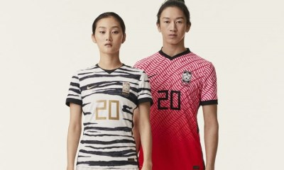 South Korea 2020 2021 Nike Home and Away Football Kit, Soccer Jersey, Shirt