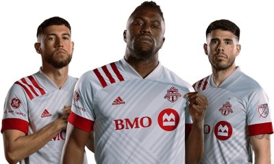 Toronto FC 2020 adidas 'Unity' Away Football Kit, Soccer Jersey, Shirt`