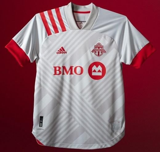 Toronto FC 2020 adidas 'Unity' Away Football Kit, Soccer Jersey, Shirt