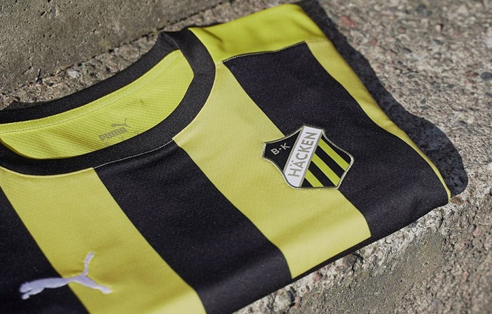 BK Häcken 2020 PUMA Home Football Kit, Soccer Jersey, Shirt, Matchtröja