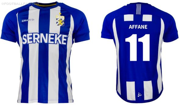 IFK Göteborg 2020 Craft Football Kit, Soccer Jersey, Shirt, Matchtröjan