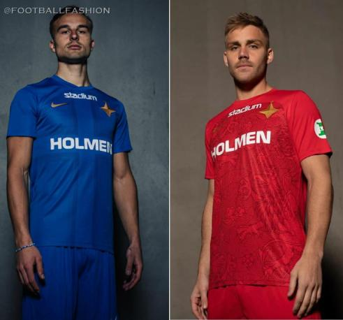 IFK Norrköping 2020 Nike Home and Away Football Kit, Shirt, Soccer Jersey, Matchtröja