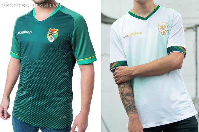 Bolivia 2020 2021 Marathon Home and Away Football Kit, Soccer Jersey, Shirt, Camiseta de Futbol Copa America