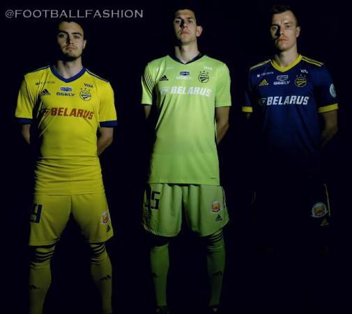 FC BATE Borisov 2020 2021 adidas Home and Away Football Kit, Soccer Jersey, Shirt, ИГРОВАЯ ФОРМА