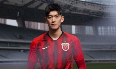 Shanghai SIPG 2020 Nike Home and Away Football Kit, Soccer Jersey, Shirt