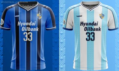 Ulsan Hyundai 2020 hummel Home and Away Football Kit, Soccer Jersey, Shirt