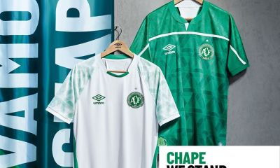 Chapecoense 2020 2021 Umbro Home and Away Football Kit, Soccer Jersey, Shirt, Camisa