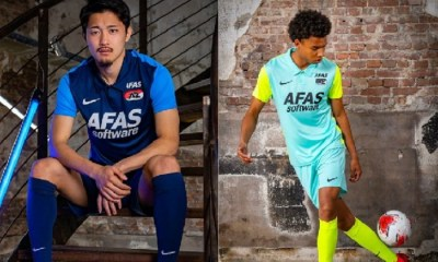 AZ Alkmaar 2020 2021 Nike Away and Third Football Kit, Soccer Jersey, Shirt, Uitshirt