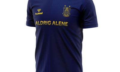 Brøndby IF 2020 'Never Alone' hummel Football Kit, Soccer Shirt, Jersey, Troje