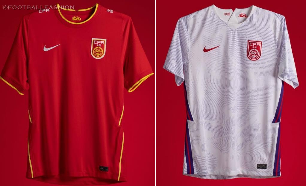 China 2020/21 Nike Home and Away Kits - FOOTBALL FASHION