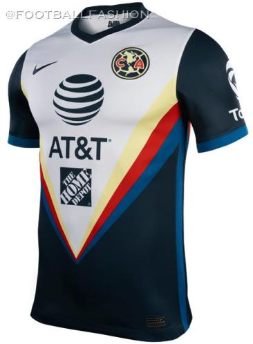 Club América 2020 2021 Nike Away Soccer Jersey, Shirt, Football Kit, Camiseta de Futbol