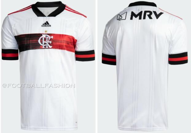 CR Flamengo 2020 2021 adidas Away Football Kit, Soccer Jersey, Shirt, Camisa