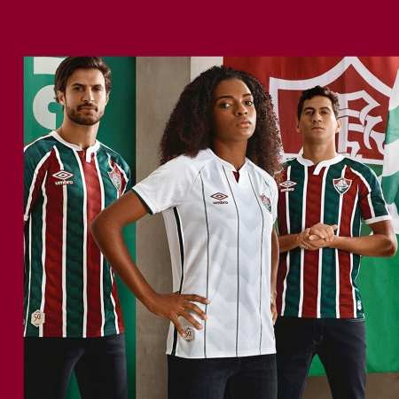 Fluminense 2020 2021 Umbro Home and Away Football Kit, Soccer Jersey, Shirt, Camisa