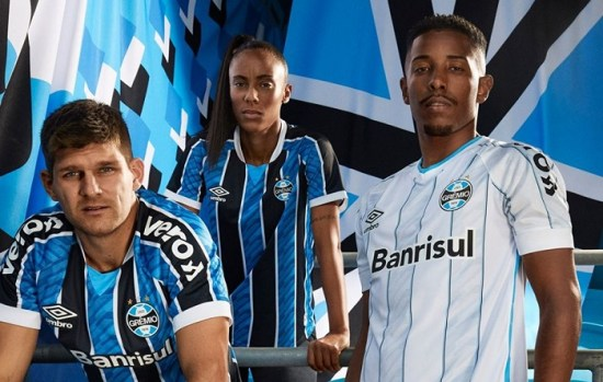 Grêmio 2020 2021 Umbro Home and Away Football Kit, Soccer Jersey, Shirt, Camisa