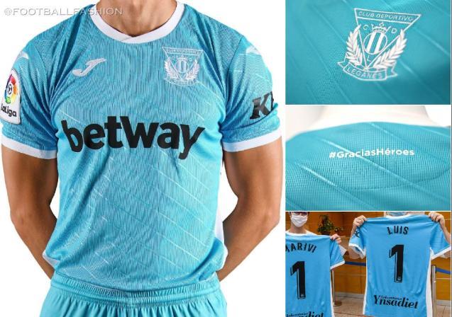 Leganés 2020 2021 Joma Third  Football Kit, Soccer Jersey, Shirt, Camiseta de Futbol 2020/21 2020-21